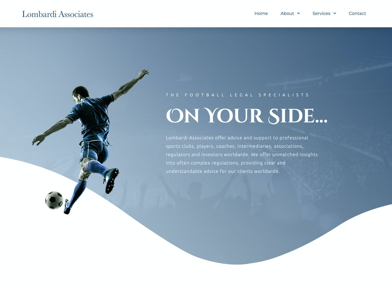 Lombardi Associates Website Design