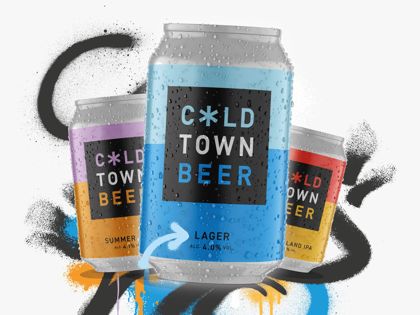 Cold Town Beer Brewery Website
